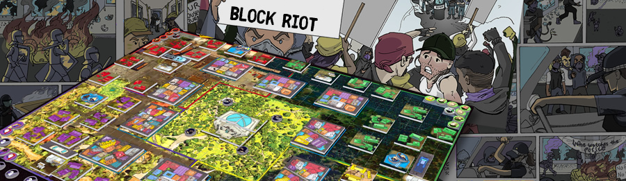 BLOCK RIOT BOARD GAME TOURNAMENT